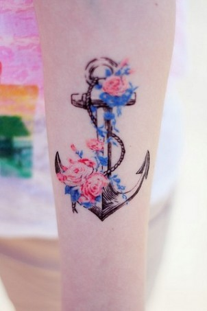 Cute Anchor Tattoos for Girls - Great Ideas for Tats